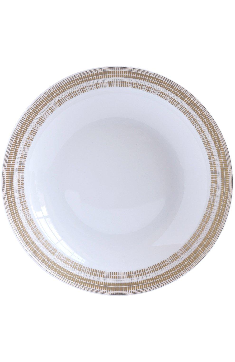 Мужского суповая тарелка canisse BERNARDAUD бесцветного цвета, арт. 1732/26 | Фото 1