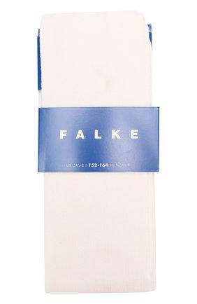 Детские хлопковые колготки FALKE кремвого цвета, арт. 13515 | Фото 1