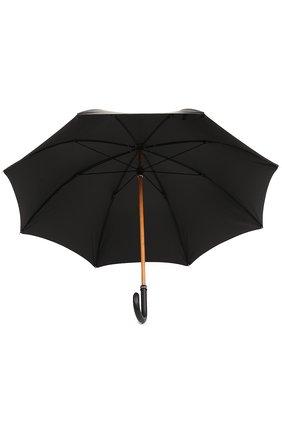 Мужской зонт-трость ERMENEGILDO ZEGNA черного цвета, арт. Z2I91/LZR | Фото 2