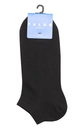 Детские укороченные носки Falke черного цвета | Фото №1