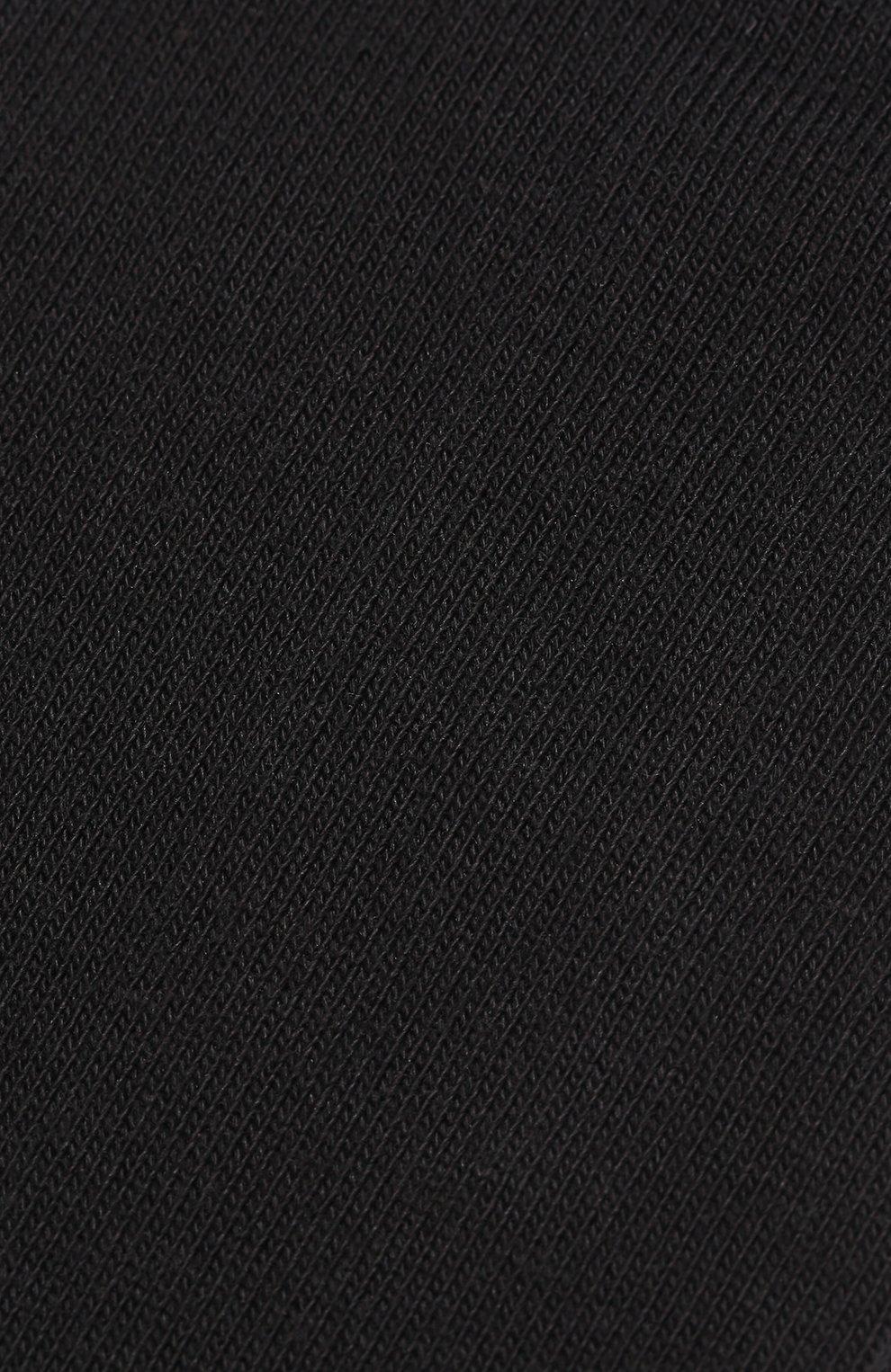 Детские укороченные носки Falke черного цвета | Фото №2