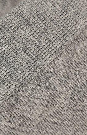 Детские носки из хлопка FALKE светло-серого цвета, арт. 10669 | Фото 2