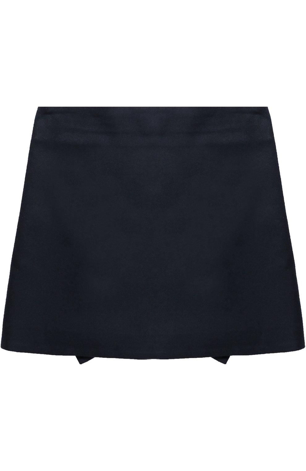 Мини-юбка с аппликацией и оборками | Фото №2