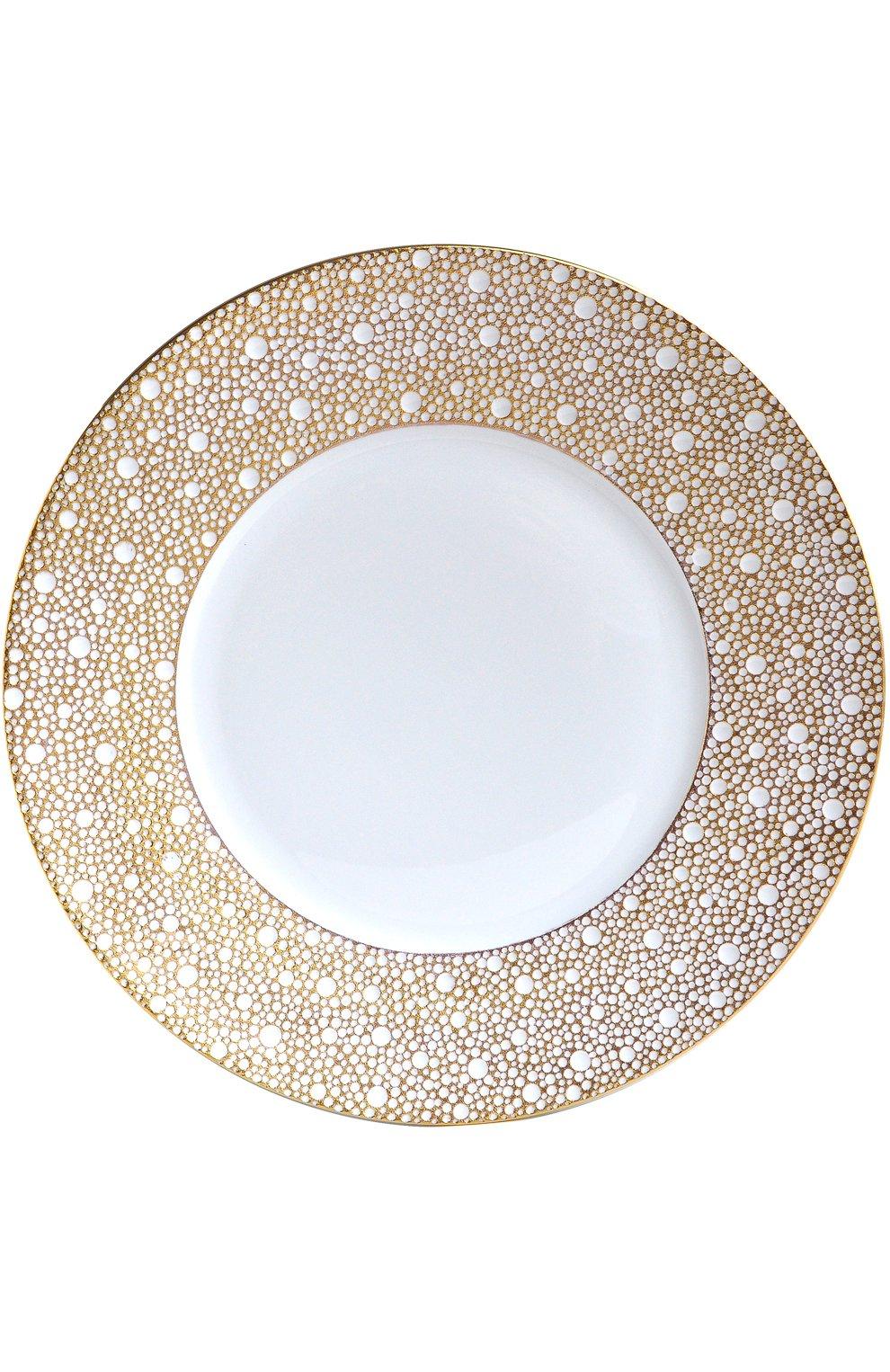 Мужского салатная тарелка ecume mordore BERNARDAUD белого цвета, арт. 1721/17   Фото 1
