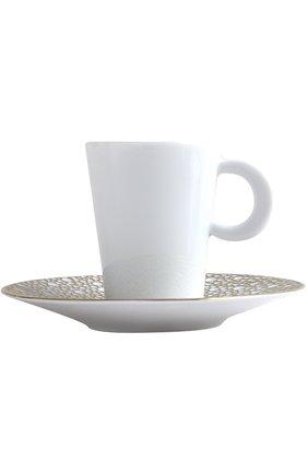 Кофейная чашка с блюдцем Ecume Mordore Bernardaud #color#   Фото №1