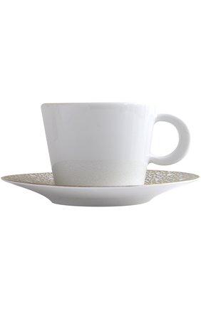 Чайная чашка с блюдцем Ecume Mordore Bernardaud #color#   Фото №1