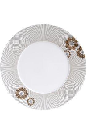 Мужского тарелка обеденная dolce vita BERNARDAUD бесцветного цвета, арт. 1734/21761 | Фото 1