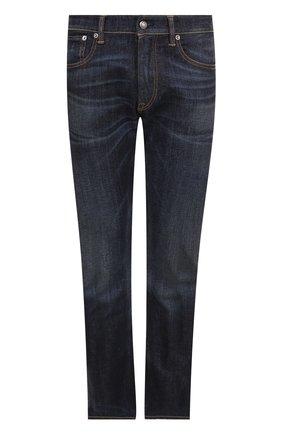 Мужские джинсы RALPH LAUREN синего цвета, арт. 790531414 | Фото 1