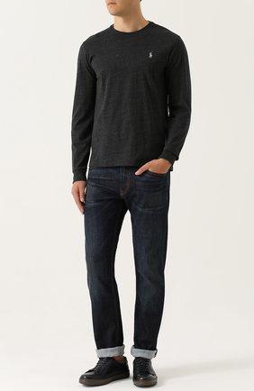 Мужские джинсы RALPH LAUREN синего цвета, арт. 790531414 | Фото 2