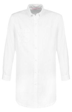 Хлопковая однотонная сорочка | Фото №1
