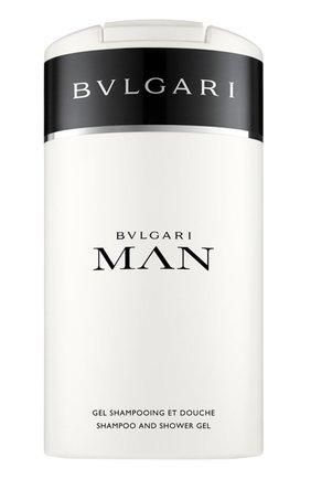 Шампунь и гель для душа Bvlgari Man (200ml) | Фото №1
