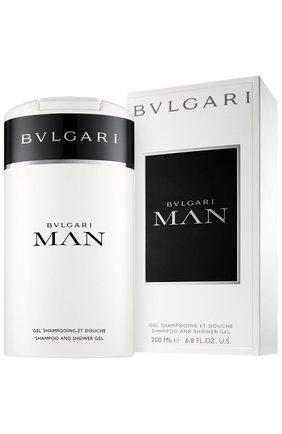Шампунь и гель для душа Bvlgari Man (200ml) | Фото №2
