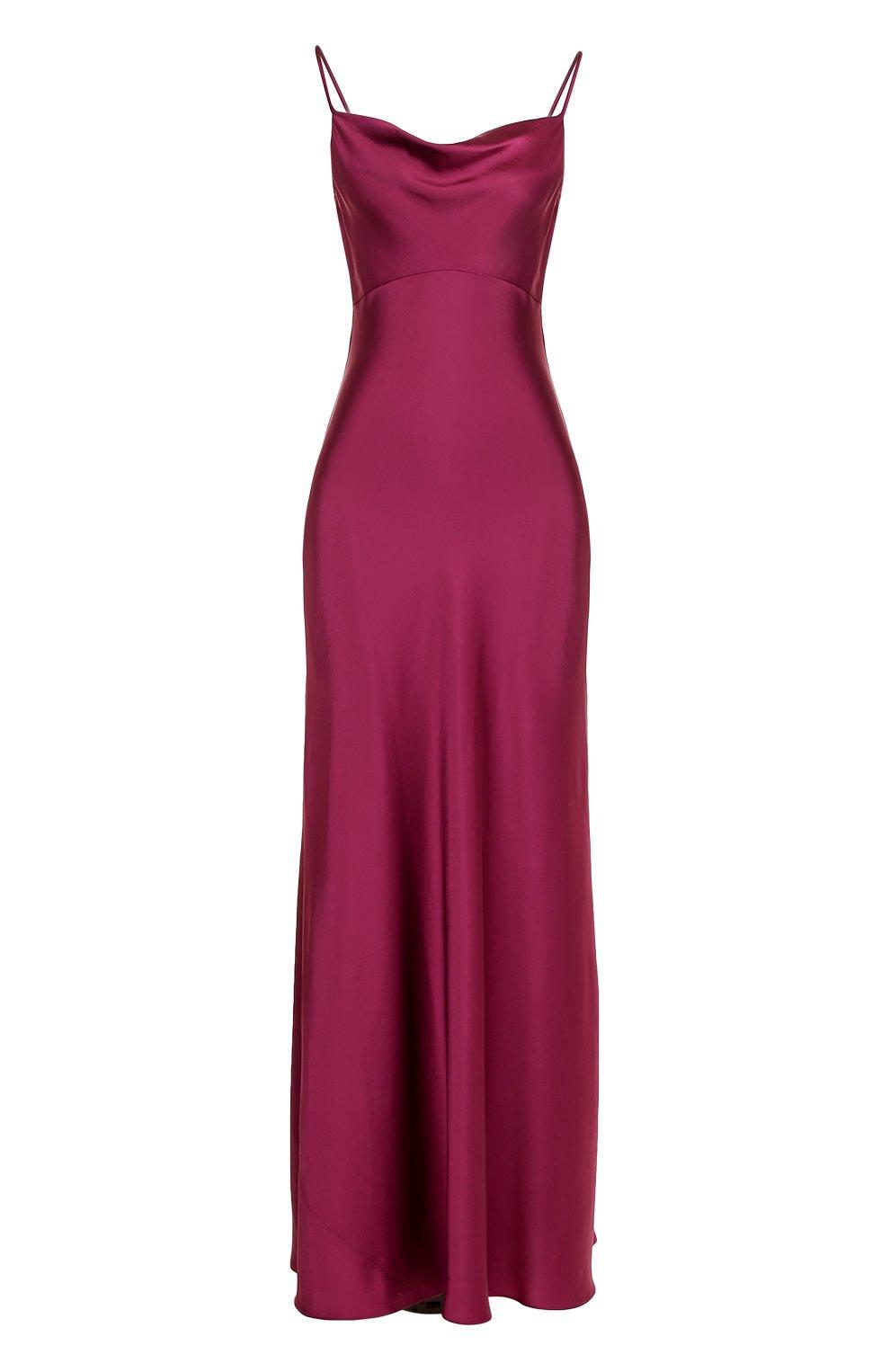 15cc4327884 Фото Женское бордовое однотонное платье-комбинация DIANE VON FURSTENBERG  Китай 5197876 10533DVF