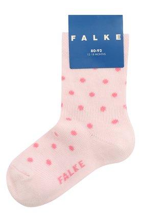 Детские хлопковые носки FALKE розового цвета, арт. 12090 | Фото 1