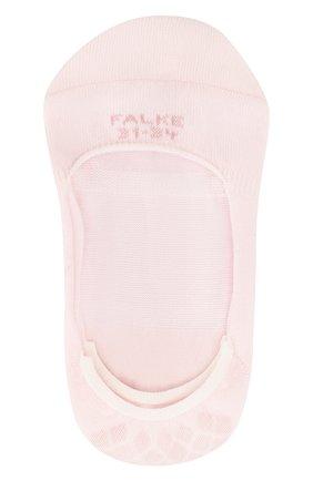 Детские носки ballerina step  FALKE розового цвета, арт. 10694   Фото 1