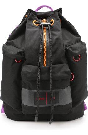 Текстильный рюкзак с контрастной отделкой
