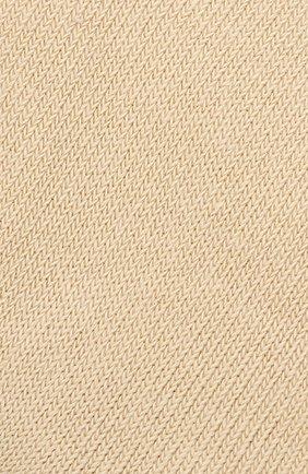 Детские носки из хлопка FALKE бежевого цвета, арт. 10645 | Фото 2