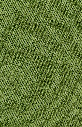 Детские носки из хлопка FALKE зеленого цвета, арт. 10645 | Фото 2