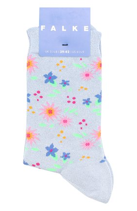 Детские носки с принтом FALKE серебряного цвета, арт. 12074 | Фото 1
