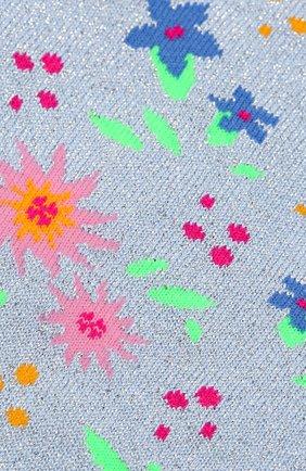 Детские носки с принтом FALKE серебряного цвета, арт. 12074 | Фото 2