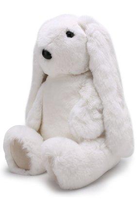 Мягкая игрушка Заяц Yves Salomon Enfant белого цвета | Фото №1