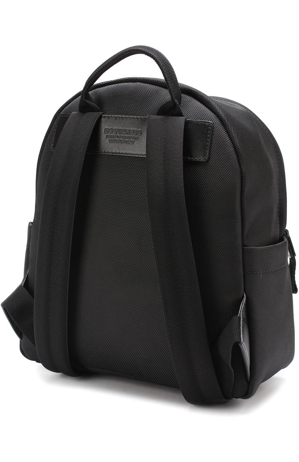 Рюкзак из текстиля с принтом   Фото №3
