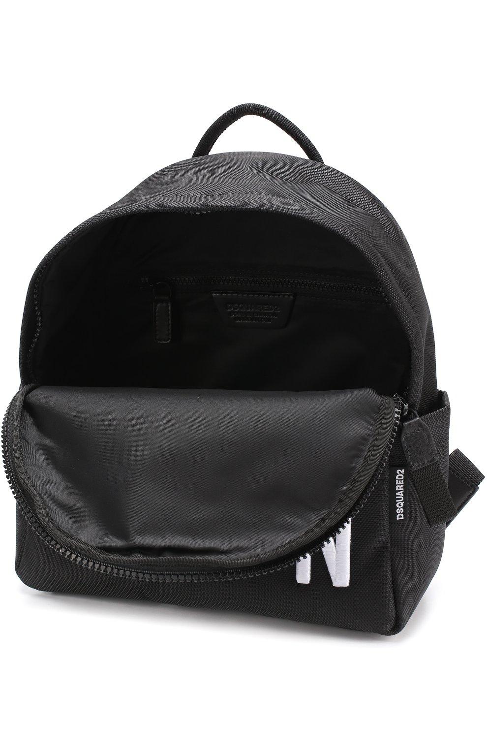 Рюкзак из текстиля с принтом   Фото №4