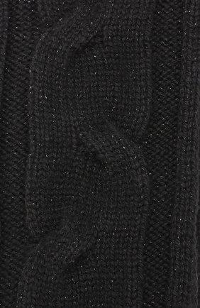 Женские кашемировые гольфы LORO PIANA черного цвета, арт. FAF9601 | Фото 2