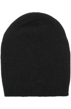Шерстяная шапка бини MD 75 черного цвета | Фото №1