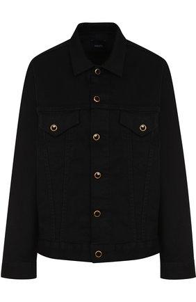 Джинсовая куртка прямого кроя | Фото №1