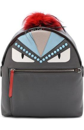 Рюкзак Bag Bugs с отделкой из меха   Фото №1