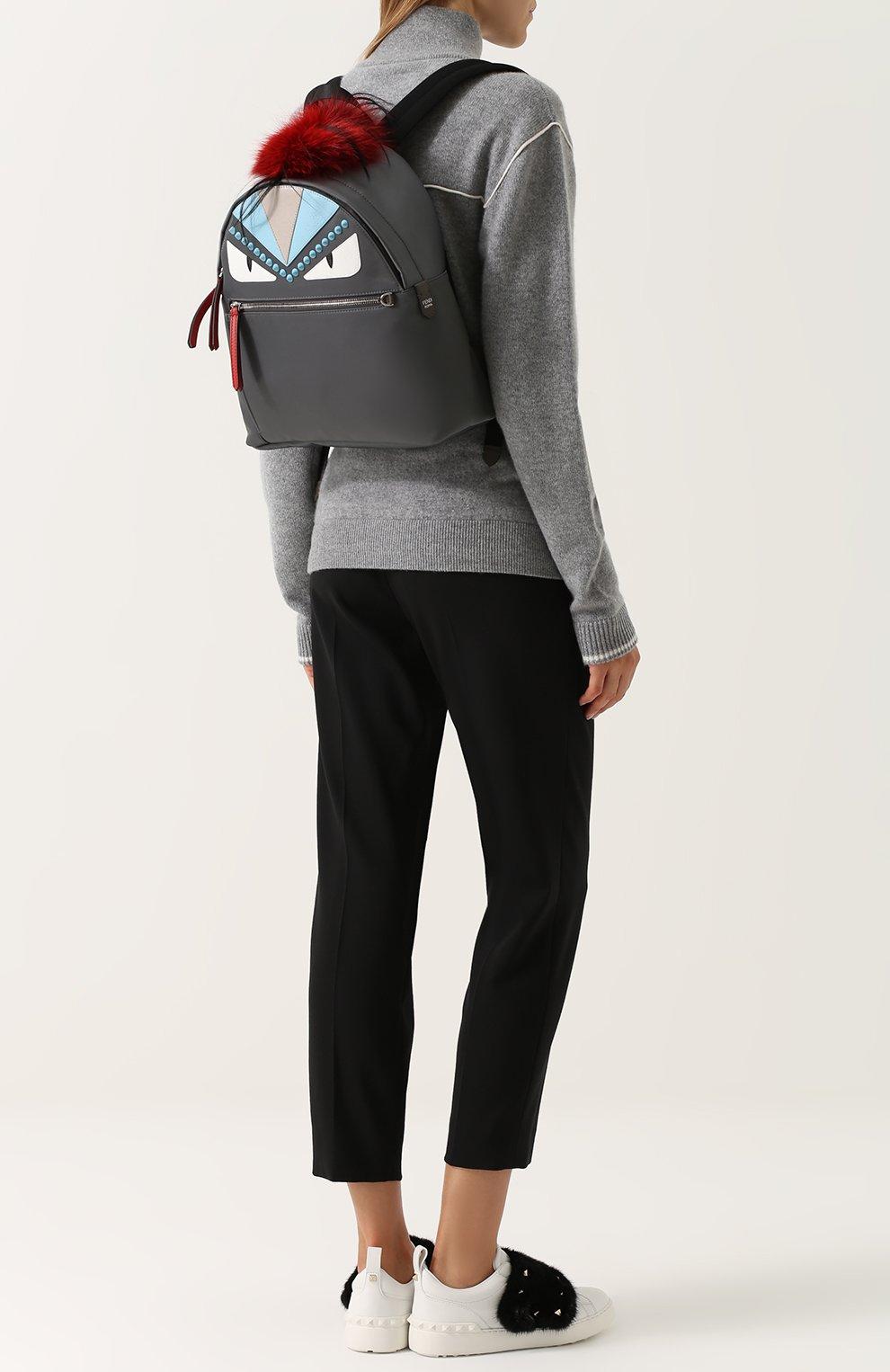 Рюкзак Bag Bugs с отделкой из меха   Фото №2