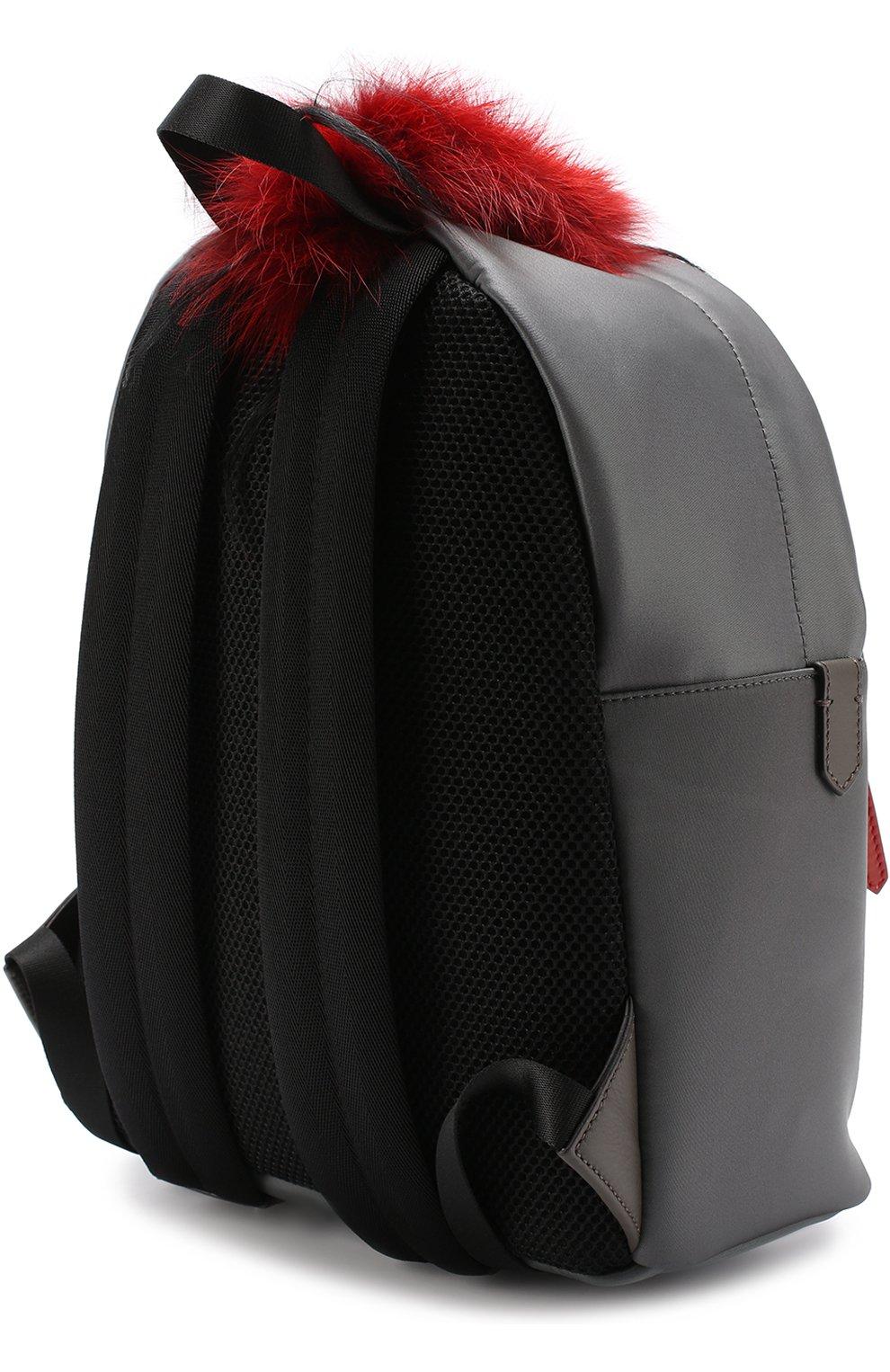 Рюкзак Bag Bugs с отделкой из меха   Фото №3