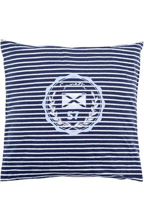 Детского подушка с принтом SANETTA FIFTYSEVEN синего цвета, арт. 901508 | Фото 1