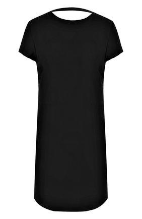 Приталенное мини-платье с открытой спиной | Фото №1