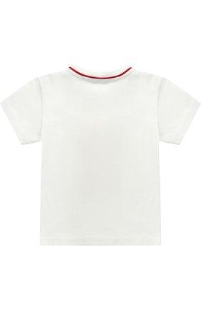 Хлопковая футболка с аппликацией | Фото №2