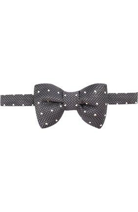 Шелковый галстук-бабочка | Фото №1