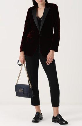 Сумка DG Millennials Dolce & Gabbana темно-синяя цвета | Фото №2