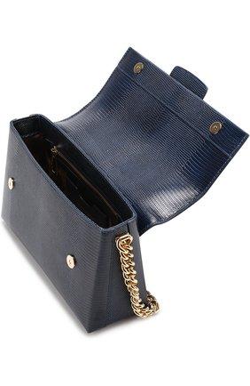 Сумка DG Millennials Dolce & Gabbana темно-синяя цвета | Фото №4