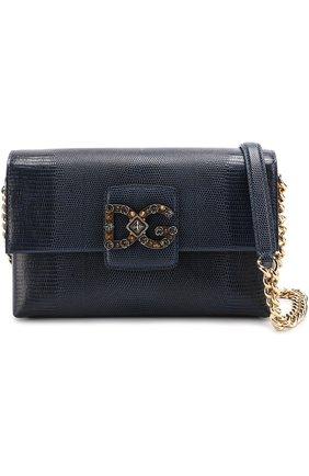 Сумка DG Millennials Dolce & Gabbana темно-синяя цвета | Фото №6