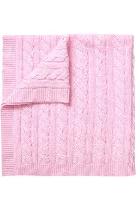 Кашемировое одеяло фактурной вязки   Фото №1