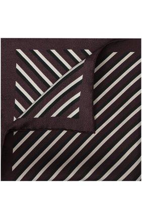 Шелковый платок в полоску | Фото №1