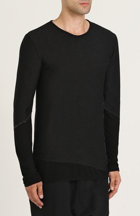 Пуловер из смеси вискозы и шерсти | Фото №3