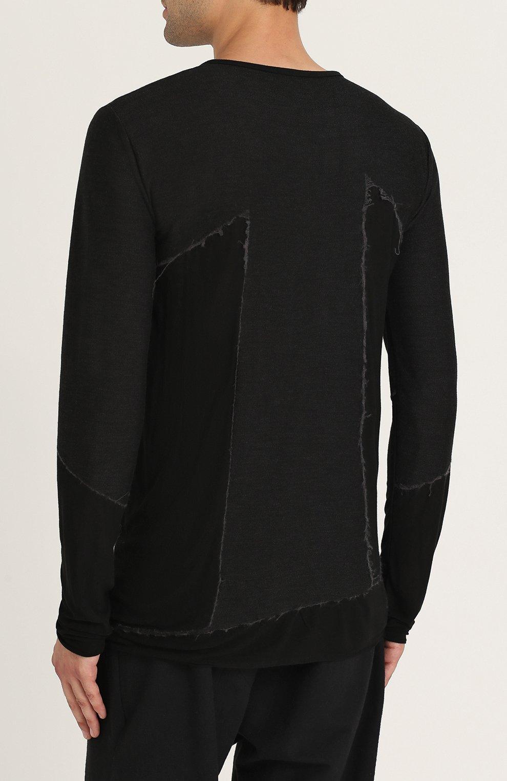 Пуловер из смеси вискозы и шерсти | Фото №4