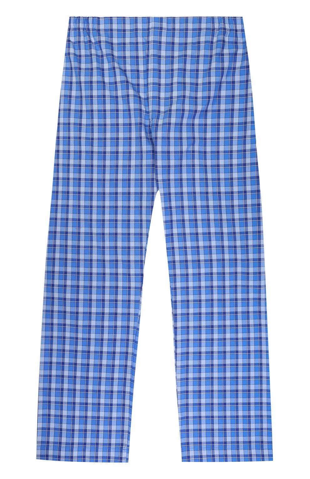 Хлопковая пижама с принтом | Фото №5