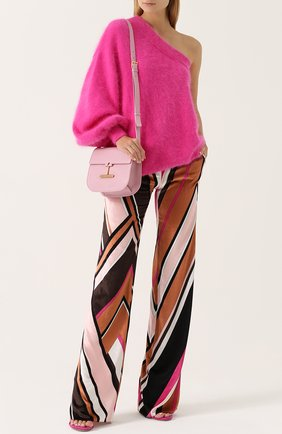 Женская сумка t clasp TOM FORD розового цвета, арт. L1018T-CD6   Фото 2