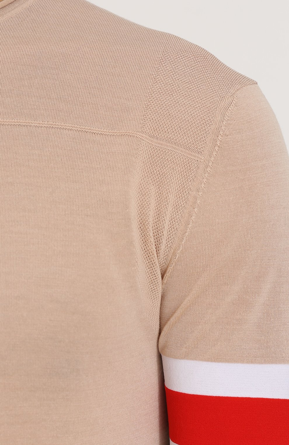 Джемпер тонкой вязки из смеси вискозы и шерсти   Фото №5