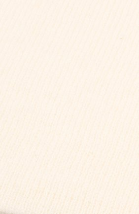 Женская кашемировая шапка TEGIN белого цвета, арт. 1104 | Фото 2