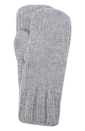 Варежки фактурной вязки | Фото №1