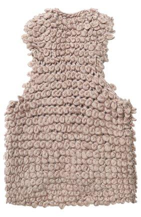 Жилет фактурной вязки | Фото №2